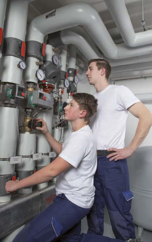 Die Ausbildung zum/zur Anlagenmechaniker(in) SHK konkret