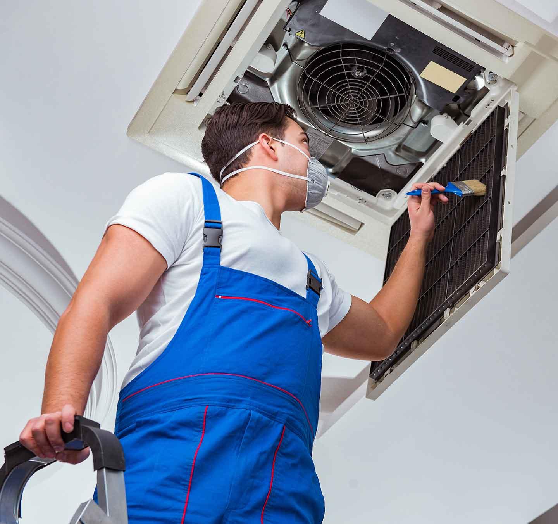Fachgerechte Wartung von Klimaanlagen erhält die Gesundheit und verlängert die Lebensdauer des Geräts.