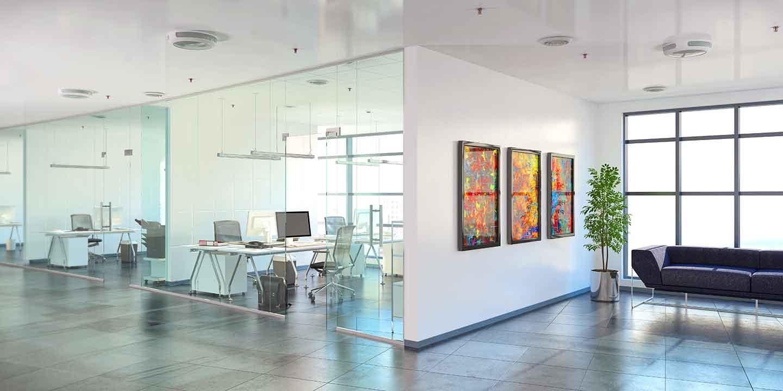 Klimaanlagen für Kundenbereiche und Büros
