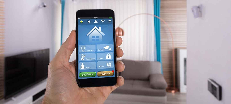 Wohnen mit Komfort: digitale Steuerung von Licht, Jalousien, Heizung und vielem mehr